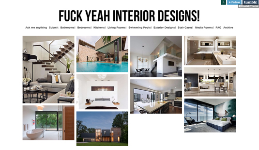 Tumblr Fuck Yeah Interior Designs Tumblr The Webrary